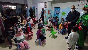 Çocuklar, Hacivat - Karagöz oyunu ile hem eğlendi hem öğrendi (Videolu Haber)