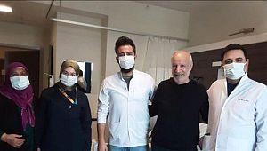Covid-19 hastası 79 gün sonra taburcu oldu