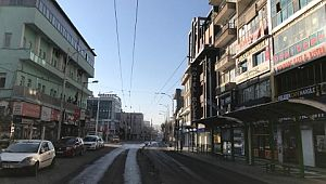 Şanlıurfa'da boş kalan cadde sokak ve meydanlar havadan görüntülendi (Videolu Haber)