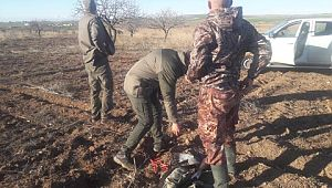 Şanlıurfa'da kaçak avlanan 4 kişi yakalandı
