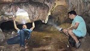 Siverek'te Bizans döneminden kalma mağara bulundu (Video)