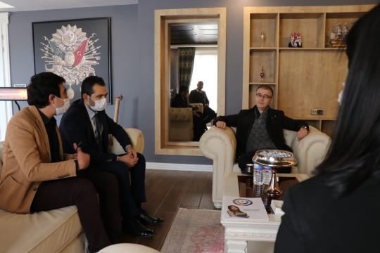 Siverek Ticaret ve Sanayi odası Başkanı Bucak, Aksaray Teknokent Kolejinde