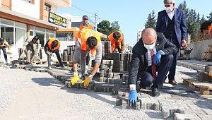 Akçakale Belediyesi ile yenilenen yollar hizmete sunuluyor