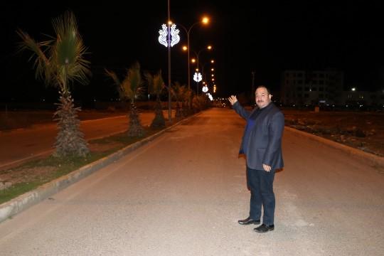 Ekinci Viranşehir sokakları bir başka güzel