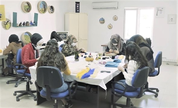 Geleceğin mimarı kadınlar, Büyükşehir ile hayatın her alanında (Videolu Haber)