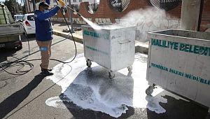 Haliliye Belediyesi, okulları dezenfekte ediyor (Videolu Haber)