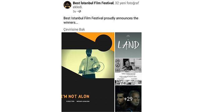 Hrü sinema-televizyon bölümü öğrencisi en iyi görüntü yönetmeni ödülünü kazandı