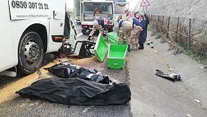 Kazada ölenlerin kimlikleri belirlendi (Videolu Haber)