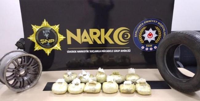 Şanlıurfa'da uyuşturucu operasyonunda 23 tutuklama (Videolu Haber)