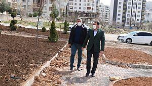 """Baydilli: """"Yeni parklarla ilçemizi yeşillendiriyoruz"""""""