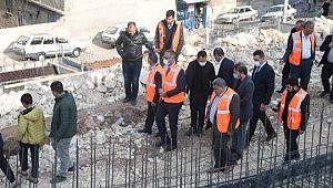 Eyyübiye Belediyesinden bir temel atma daha (Videolu Haber)
