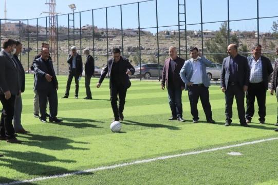 Halfeti'de gençlerimizi sporla buluşturmaya kararlıyız