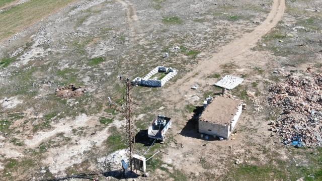 Havadan yapılan kontroller sırasında 4 kayıt dışı trafo bulundu