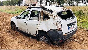 HDP'li başkanın aracı kaza yaptı: 4 yaralı