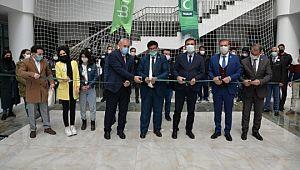 İl Milli Eğitim Müdürlüğünde Yeşilay haftası sergisi açıldı
