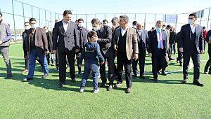 Karaköprü kırsalında spor yatırımları sürüyor (Videolu Haber)