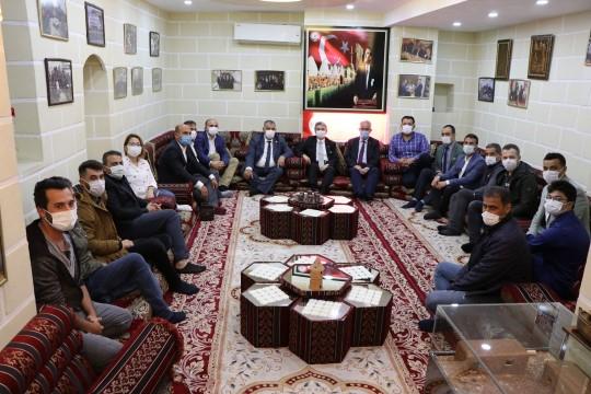 Başsavcı Yeniçeri gazetecilerle bir araya geldi