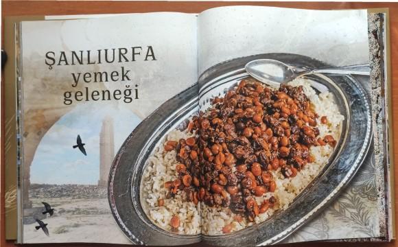 """""""Bereketli hilal'in kalbi - Şanlıurfa mutfak kültürü"""" kitabı çıktı"""