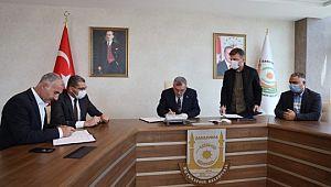 Büyükşehir'de toplu iş sözleşmesinde imzalar atıldı