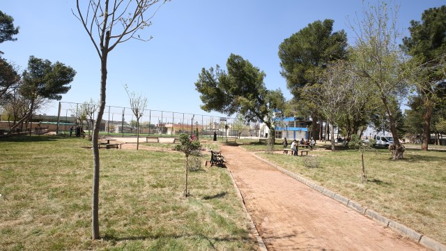 Eyyübiye belediyesi, bir açılışa daha hazırlanıyor.