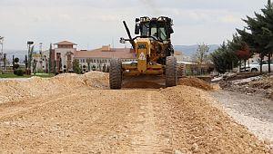 Karaköprü'de yeni yollar açılıyor