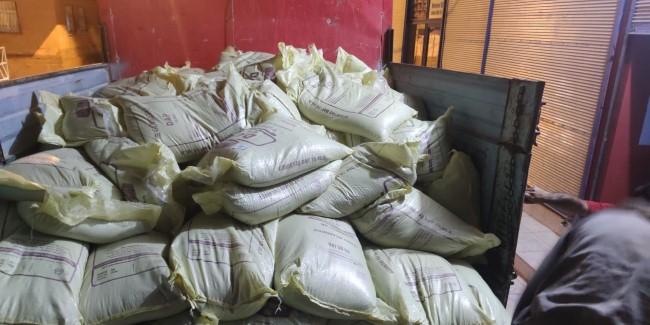 Şanlıurfa'da 22 ton sahte gübre ele geçirildi(Video)
