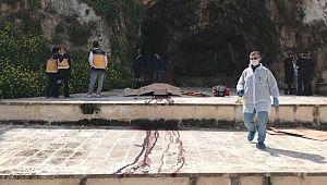 Urfa Kalesi eteğinde ceset bulundu