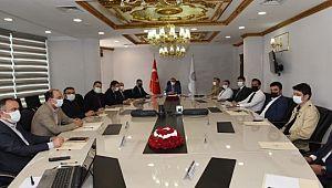 Vali Abdullah Erin'in Kaymakamlarla Ramazan Tedbirlerini Değerlendirdi