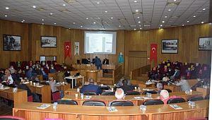 Viranşehir Belediyesi nisan ayı meclis toplantısı yapıldı