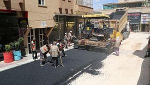 Canpolat asfalt atağını inceledi