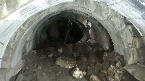Kaçak kazıda yer altından Roma zindanları çıktı