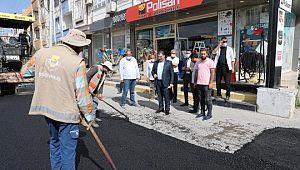 Canpolat: asfalt çalışmaları, ahmet yesevi'ye hayırlı olsun