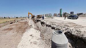 DİSKİ, Mezopotamya Caddesi'nde altyapı çalışmalarına başladı