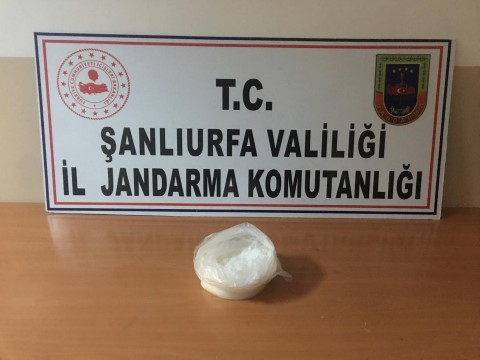 Şanlıurfa'da uyuşturucu operasyonunda bir tutuklama