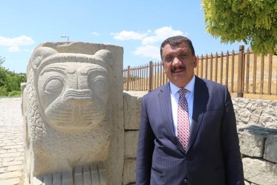 Başkan Gürkan'dan turistlere çağrı ( Video Haber )
