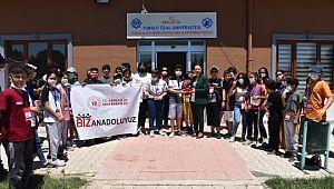 Biz Anadolu'yuz ekibinden MTÜ'ye ziyaret