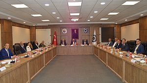 Bölge odalarının 2'inci toplantısı Kilis Ticaret ve Sanayi Odası ev sahipliğinde gerçekleştirildi
