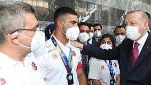 Haliliye'nin şampiyonlarından Cumhurbaşkanına ziyaret