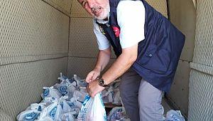 Kurban etleri ihtiyaç sahiplerine dağıtıldı