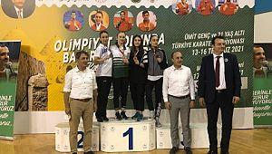 Manisa BBSK karatecilerinden 1 altın, 2 bronz madalya