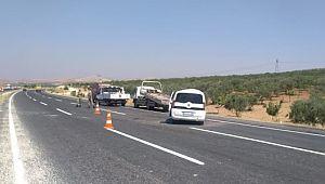 Şanlıurfa'da trafik kazası: 1 ölü, 5 yaralı ( Video Haber )