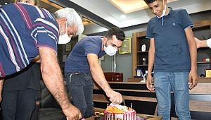 Talasemi hastasına markette doğum günü sürprizi ( Video Haber )