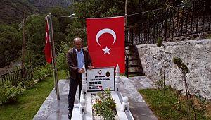 Türkiye'nin dört bir tarafından gönderilen fidanlar şehit öğretmenin baba ocağında hatıra ormanında buluştu ( Video Haber )