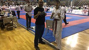 Türkiye Ümitler Karate Şampiyonasında Türkiye üçüncüsü oldu