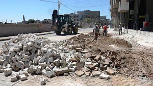 Akçakale belediyesi'nin revize çalışmaları devam ediyor ( Video Haber )