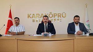 Karaköprü Belediye meclisinden anlamlı karar