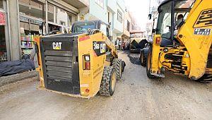 Eyyübiye belediyesi asfalt atağını sürdürüyor.