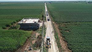 Eyyübiye belediyesi kırsalda da yol yapımını aralıksız sürdürüyor. ( Video haber )
