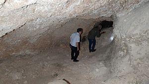 Fosseptik çukuru kazarken tünel ortaya çıktı ( Video Haber )