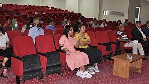 Genel sekreterler ve tarım tanışmanlarına eğitim verildi